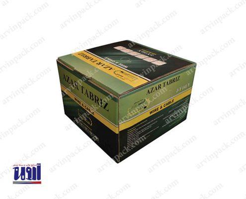 تولید کارتن لمینیتی شرکت سیم و کابل آذر تبریز