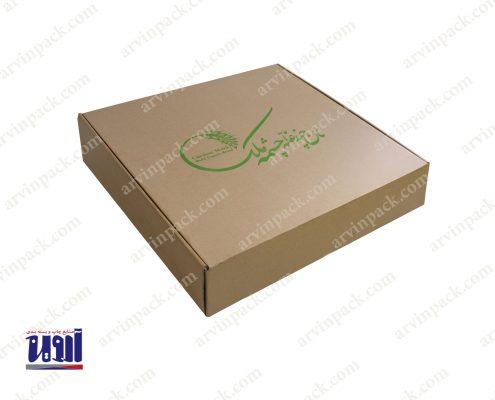 جعبه سازی کارتن سازی بسته بندی نان چشمه ملک طراحی جعبه و طراحی کارتن