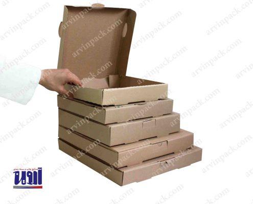 جعبه پیتزا جعبه آماده