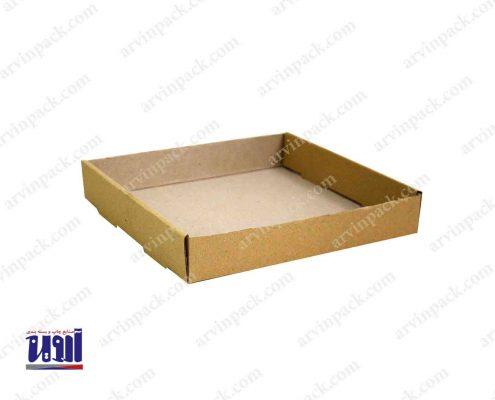 سینی مقوایی جعبه آماده جعبه غذا سینی شرینک