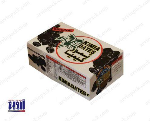 جعبه خرما بسته بندی خرما کارتن خرما جعبه رطب بسته بندی رطب KIMIA