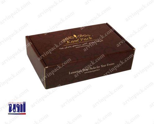 جعبه غذا ، جعبه پذیرایی کام پک ، جعبه سازی لمینیتی