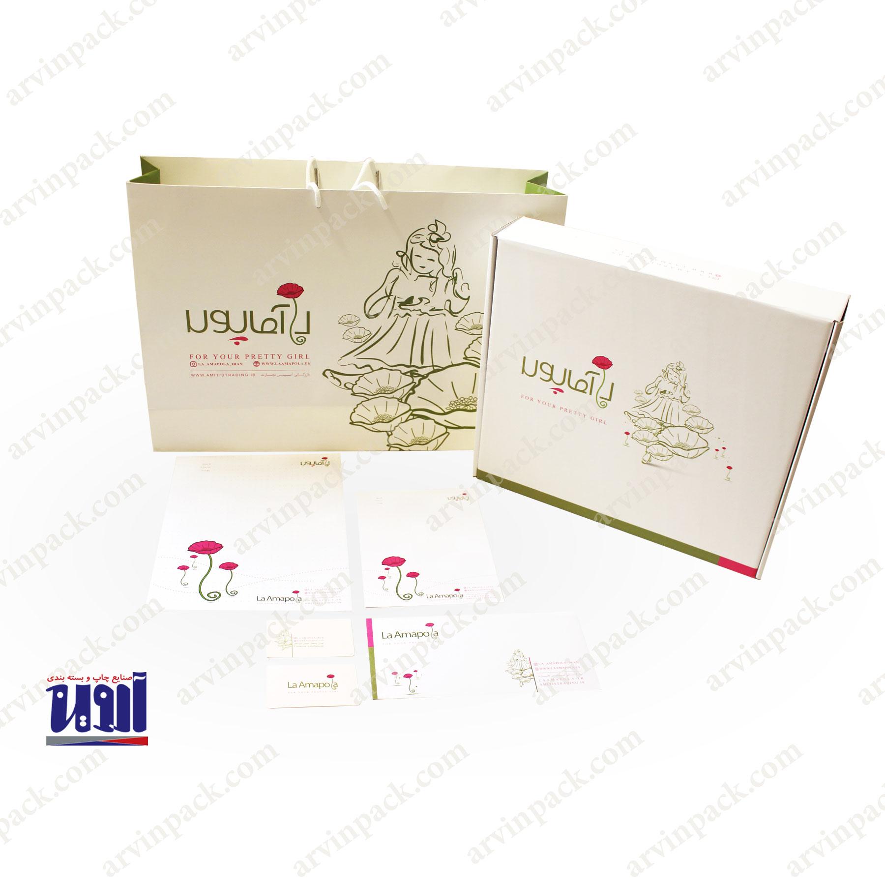 تولید جعبه لباس لاآموپولا ، جعبه سازی و تولید جعبه لمینیتی