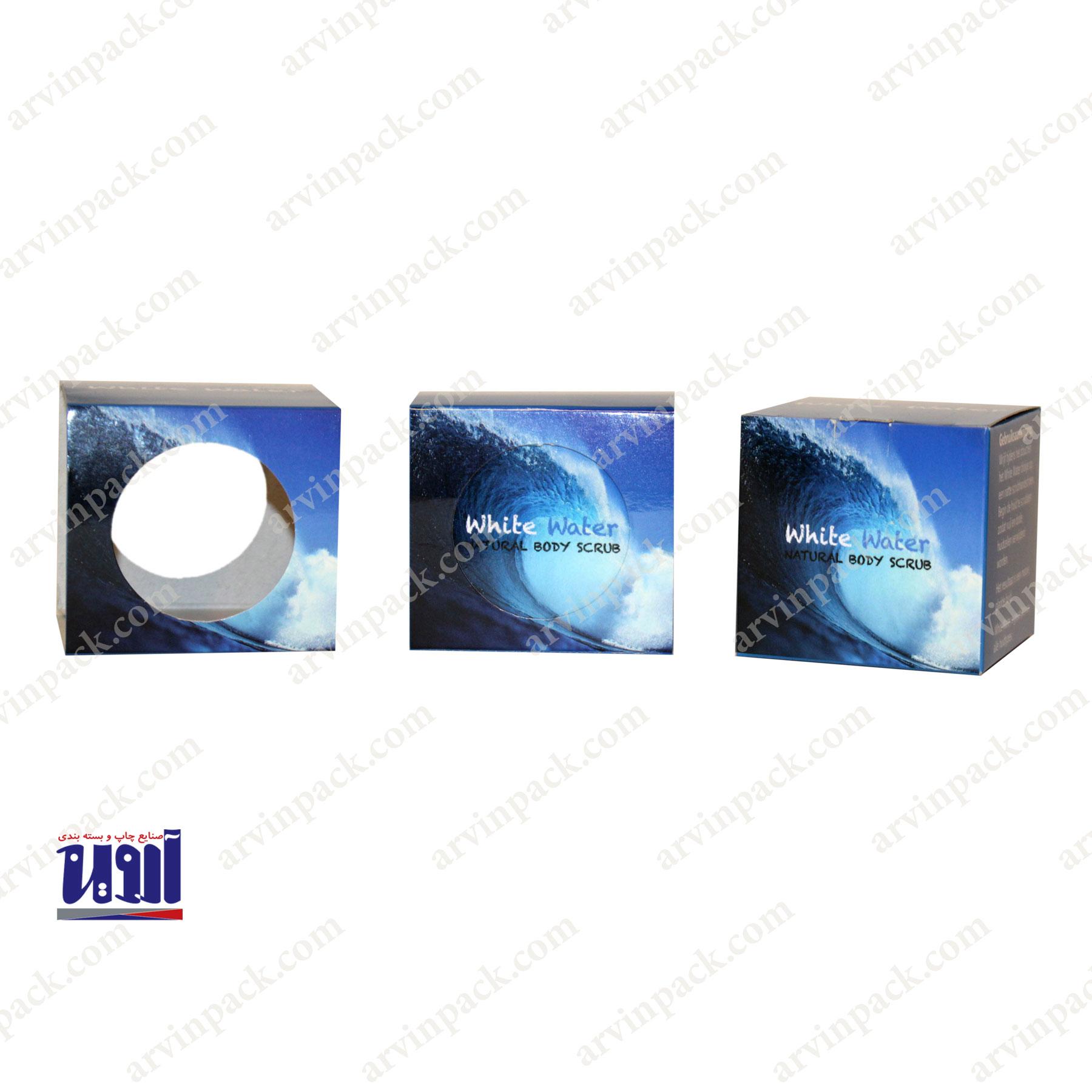 تولید جعبه سفیداب - جعبه سازی ، تولید جعبه مقوایی