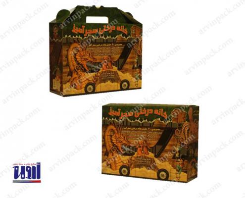 جعبه سازی ، قیمت جعبه مقوایی ، چاپ و جعبه سازی شرکت بسته بندی