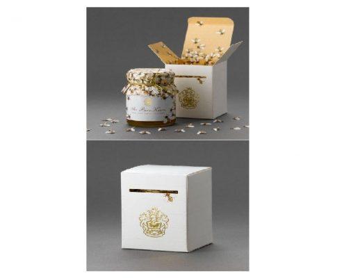 جعبه سازی و طراحی بسته بندی مواد غذایی : جعبه عسل
