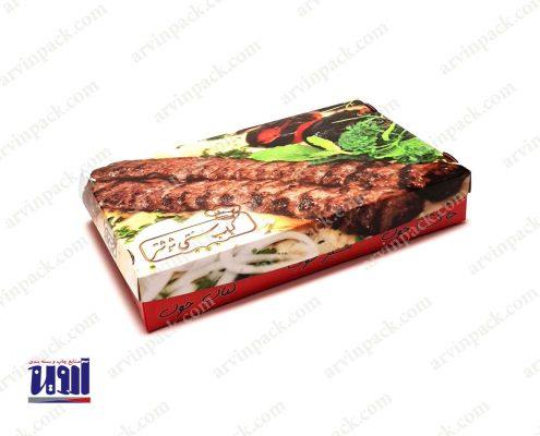 جعبه غذا ، جعبه کباب ، جعبه غذای بیرون بر