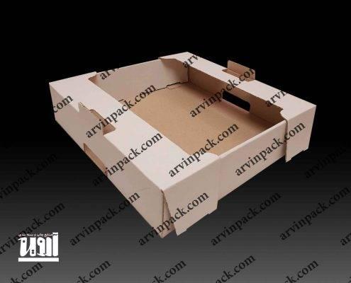 چعبه گلابی ، ماکت ، ماکت سازی ، جعبه میوه ، کارتن میوه