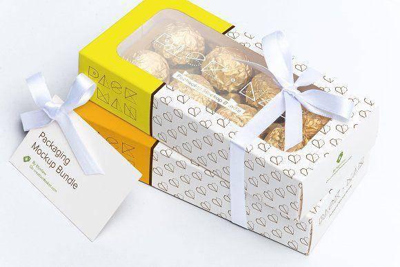 سفارش بسته بندی شیرینی و کاپ کیک، جعبه شیرینی