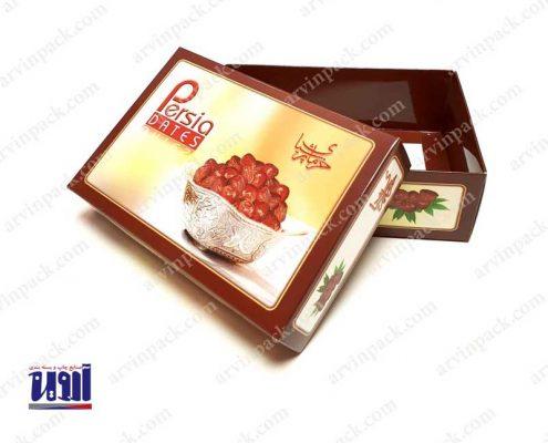 جعبه خرما ، بسته بندی خرما