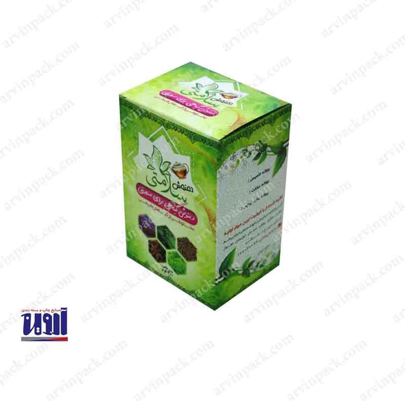 طراحی بسته بندی ، طراحی جعبه ، طراحی بسته بندی چای