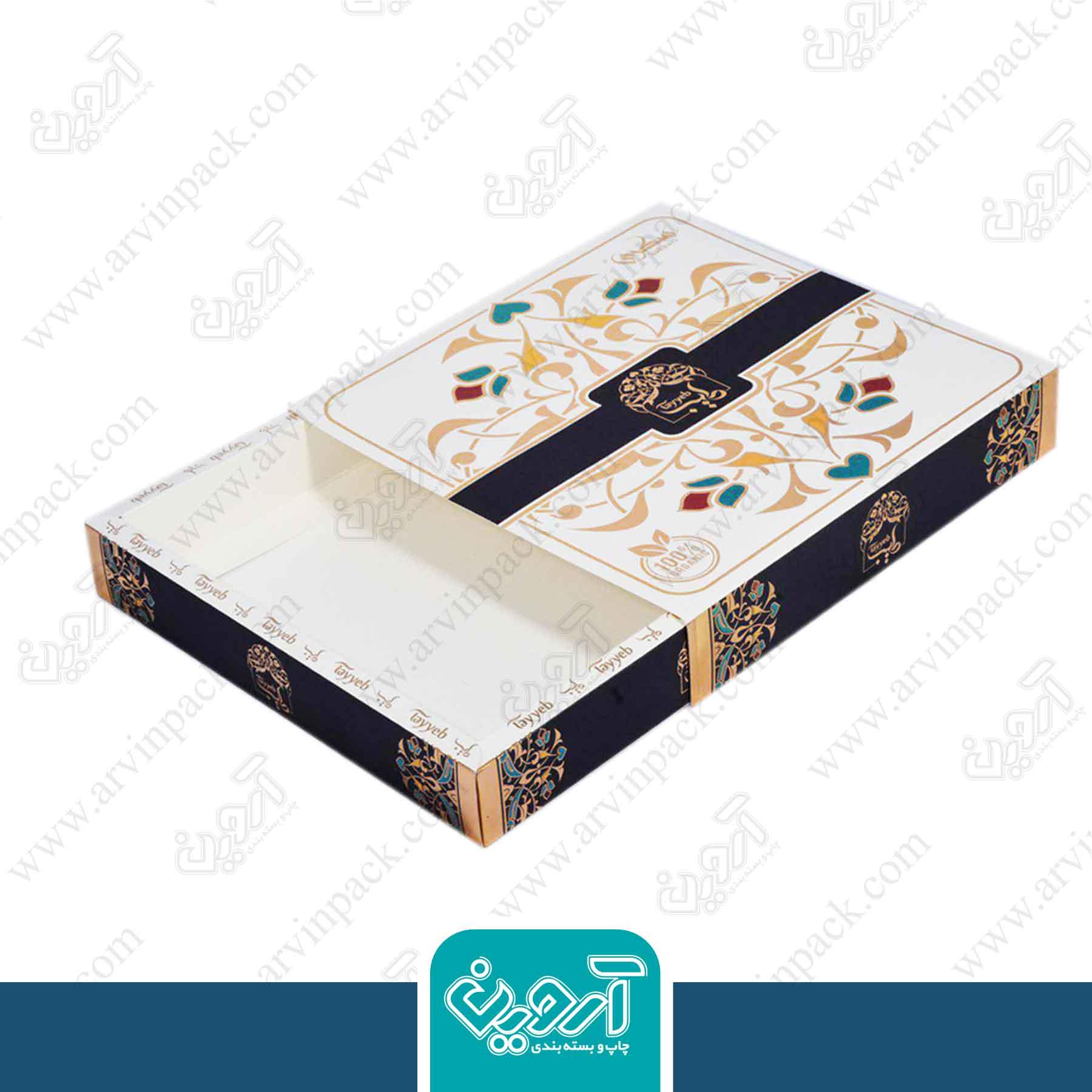 جعبه خرما صادراتی طیب